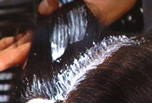白髪染め 塗り方